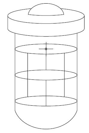 A - Vaso de pressão típico