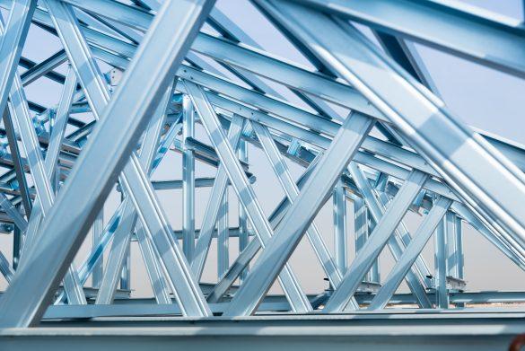 Projetos de estruturas de alumínio