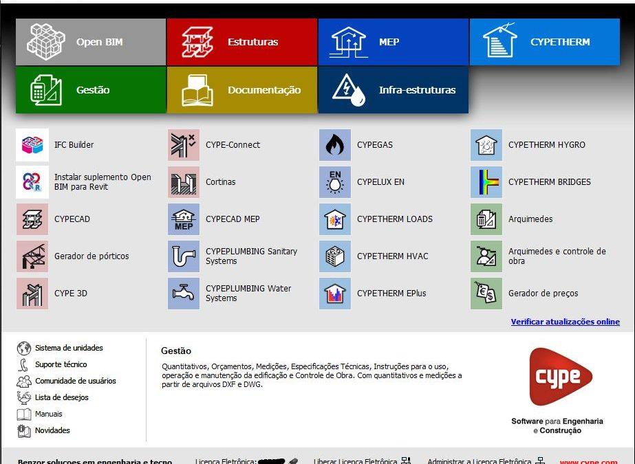 Download Grátis CYPE3D/CAD