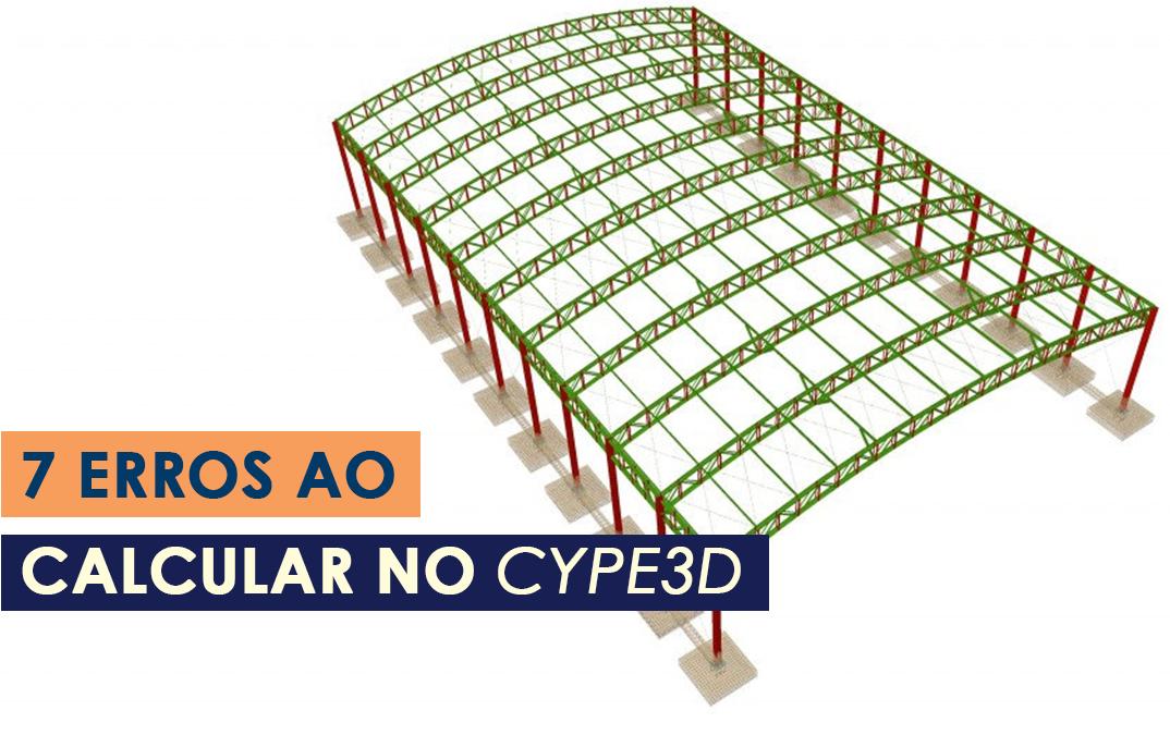 7 erros ao calcular no CYPE3D